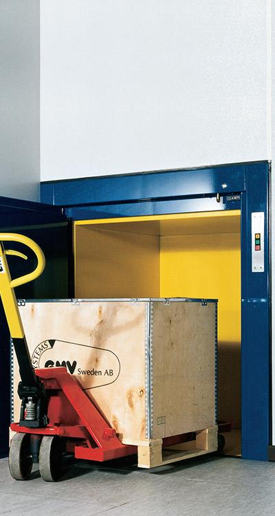 Güteraufzug von paderlift quehl ISO-MAX