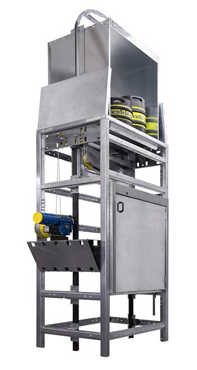 Unterflur-Aufzug