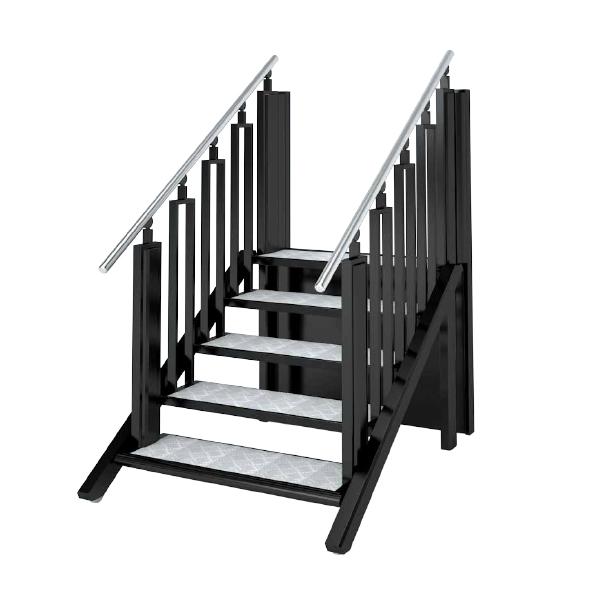 Treppe und Rollstuhl-Hebebühne in einem