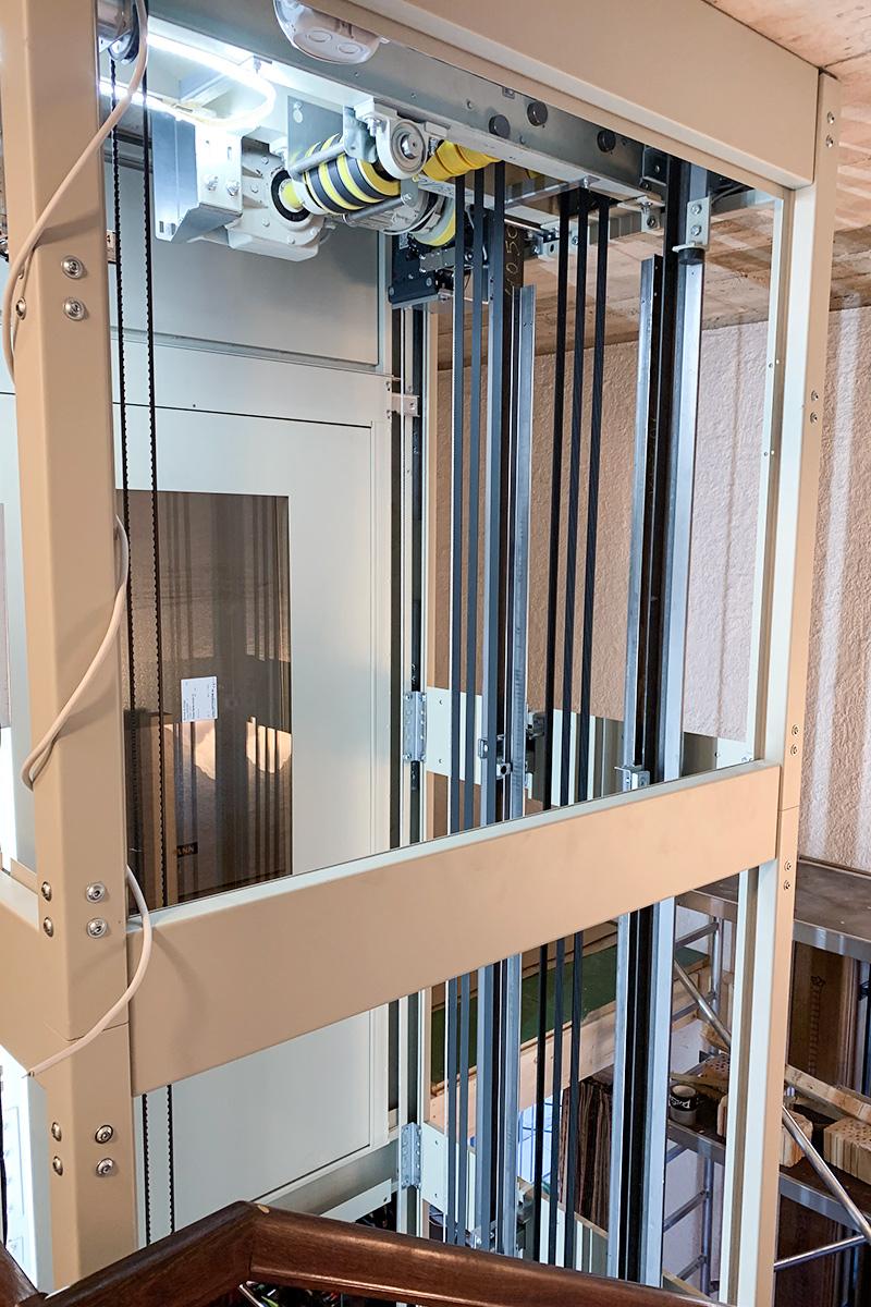 Referenzobjekt Ideallift Aufzug im Hotelbetrieb