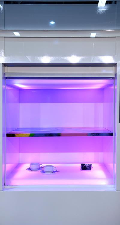 LED Kabine Spezialaufzug von paderlift quehl