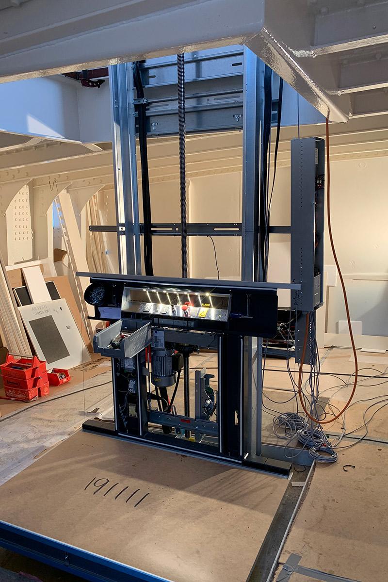 Montage Plattformlift durch paderlift Aufzüge